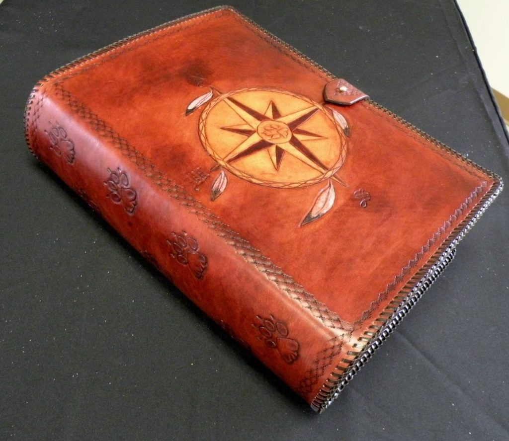 Hand-Made Leather Notebooks